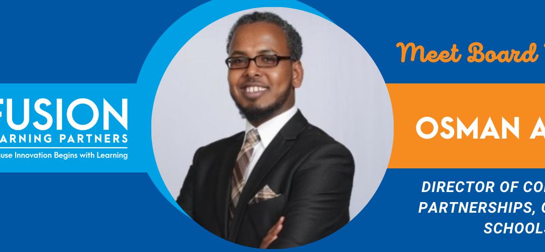 Fusion Board Feature: Osman Ahmed