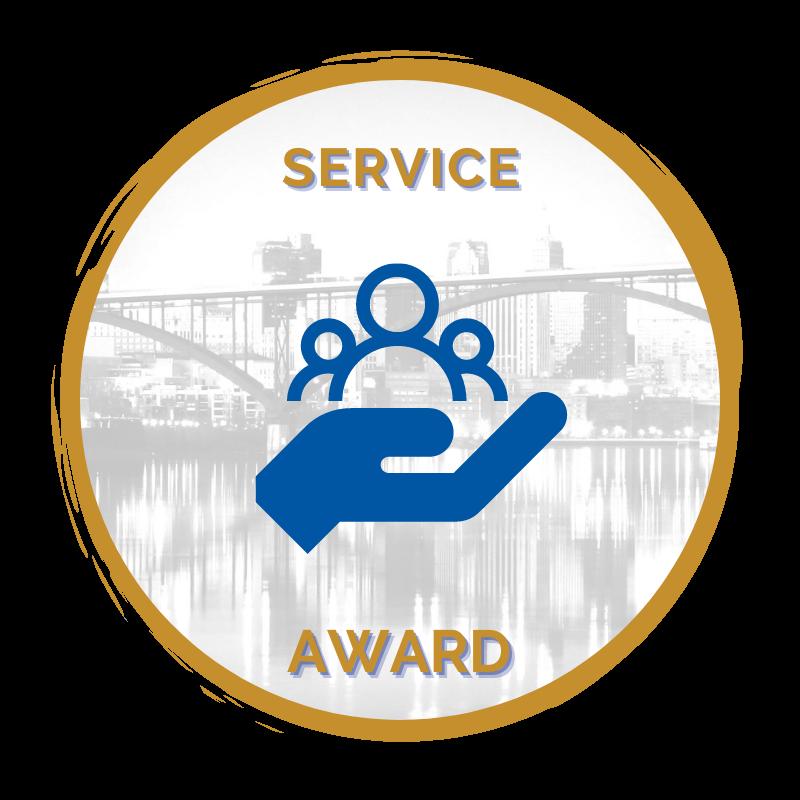 Service award icon